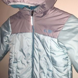 4T Champion VentureLoft Winter Coat Mint & Gray
